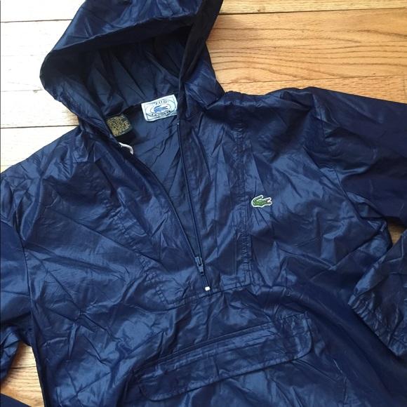 13470cc564f5 Lacoste Other - Mens vintage LACOSTE IZOD Rain pullover jacket